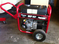 Subaru 3500/4375 Watt Portable Generator with 1 day's use.