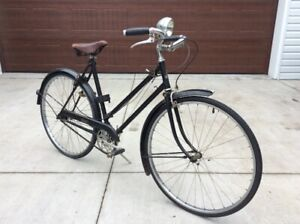 Antique Original Raleigh Ladies WWII Bicycle- Online Auction