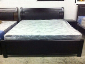 Brand new super strong solid wood KING bed$499(free delivery)