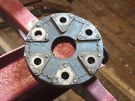 Austin 7 Seven Propshaft Flange, leather