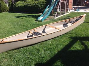 Fibreglass Canoe