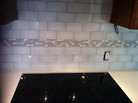 GLASS BACKSPLASH INSTALLER