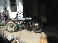 1974 Honda Elsnore for PARTS OR FIX need gone asap