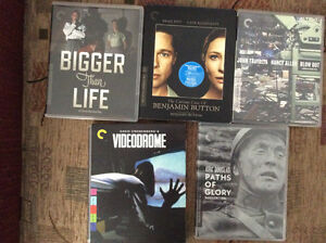 Criterion Blu-rays for sale