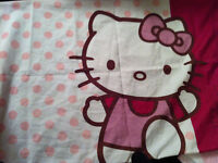 everything Hello Kitty sheets sets, comforter twin size,curtains