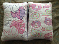 """Elephant Island"" Decorative Pillows for Kids Bed"