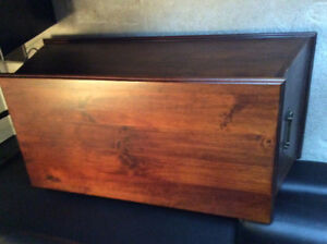 Storage chest / solid wood