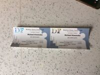 Tickets x2 Michael Kiwanuka Brighton Dome 24th Oct