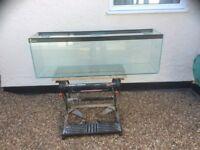 Clear seal 4FT aquarium vivarium fish tank
