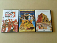 DVDs 15$ all