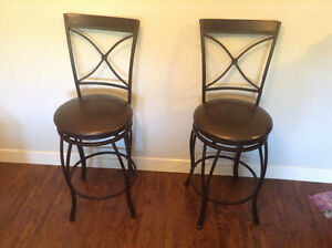 Set of two For Living bar stools