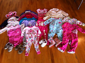 Girls 18 month - large clothing lot