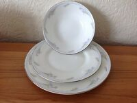 Bone china plates and bowls