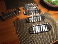 Stainless toast racks