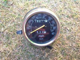 Suzuki rv van van 125 speedo,