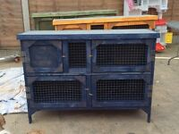 Brand new 4ft 2tier rabbit hutch in blue