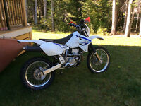 Trade for sled.     2013 DRZ 400 s