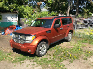 2008 Dodge Nitro Fulload 3.6 motor 5spd Automatic..TRADE TRADE