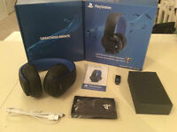 PS4 Casque microstereo sans fil or-80$