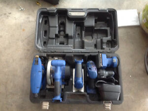 Six piece Delta power tool set