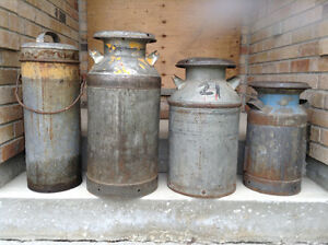 Antique Milk Cans For Sale