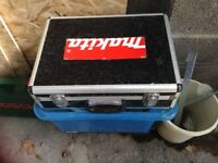 Makita battery and carry case