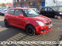 2008 (08 Reg) Suzuki Swift 1.3 GL 5DR Hatchback RED + LOW MILES