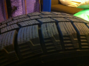 Hyundai Accent 2008 Winter Tires with Rims