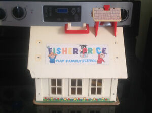 1971 Fisher Price Play Family School