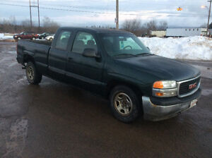 2001 GMC 1500 extra cab 2wd 4.3 v6 auto runs like new $1550.00
