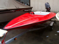 2008 Hydrostream Voo Doo with Evinrude 40HP outboard Motor