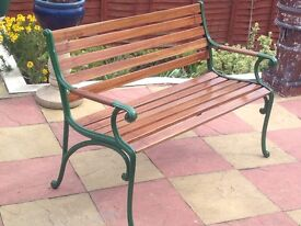 Garden bench top quality