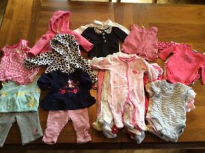 LOT vêtements bébé fille 3 mois (et 3-6 mois)