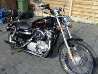 Harley custom 883 2009 reg.