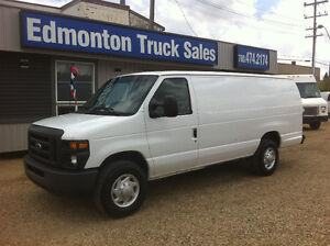 2009 FORD E-350 XL EXTENDED CARGO VAN