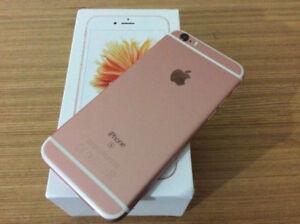 IPHONE 6S 32GB ROSE UNLOCKED UNLOCKED EXTRAS AND BOX.