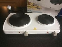 Micromark double cooking plates, ( never used).