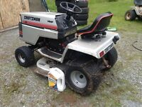 LAWN ( TRACTORS) 14 hp/11hp/ /15 /17hp /17.5hp FOR SALE