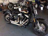 Ride Away Today Stunning One owner Harley Davidson FLSTSB Softail 1584cc Cross Bones 2009