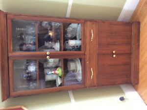 Corner China Cabinet for sale