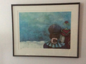 Toller Cranston signed and numbered print