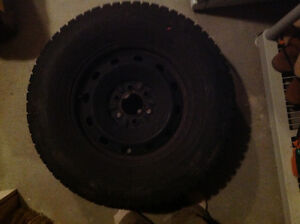 """Winter Tires On Rims for trucks with 17"""" or 18"""" rims"""