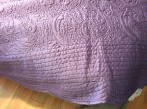 King size coverlet