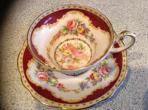 Circa 1850 Windsor China tea set
