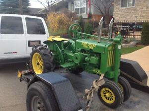 1938 JOHN DEER MODEL G 1/4 scale replica