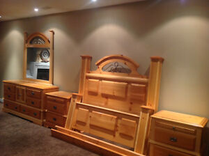 5pc Solid wood queen set---- price reduced $500