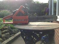 Dolmar ps340 Chainsaw petrol 14 inch blade great for logging