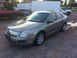 2008 Ford Fusion New August MVI, 4cyl 5spd,Warranty $2500.0