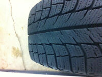 Honda Civic Rims with Michelin X-ice Tires 195/65R15