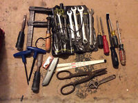 Lot of Misc Tools - Stanley Wrench Set & More